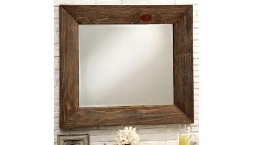 Modern Slat Mirror